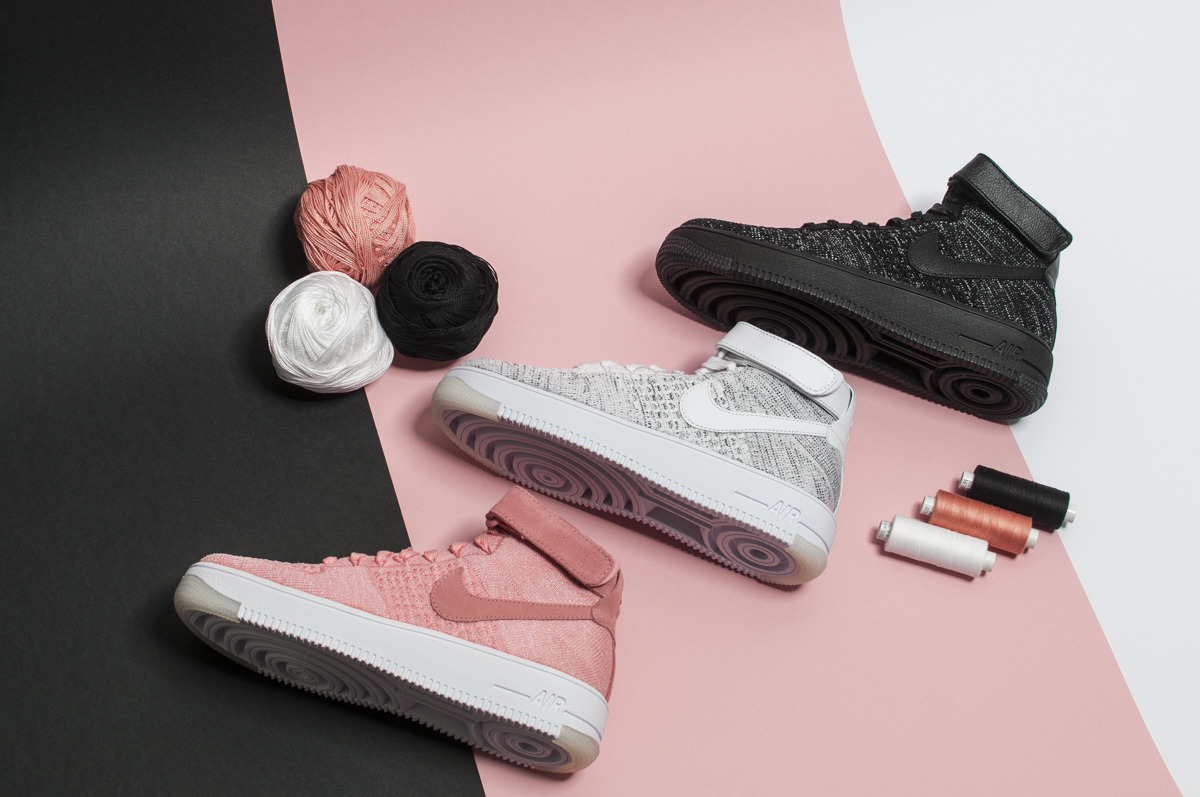 new styles 293e5 de821 ... Womens Shoes sneakers Nike Air Force 1 Flyknit 818018 002 ...