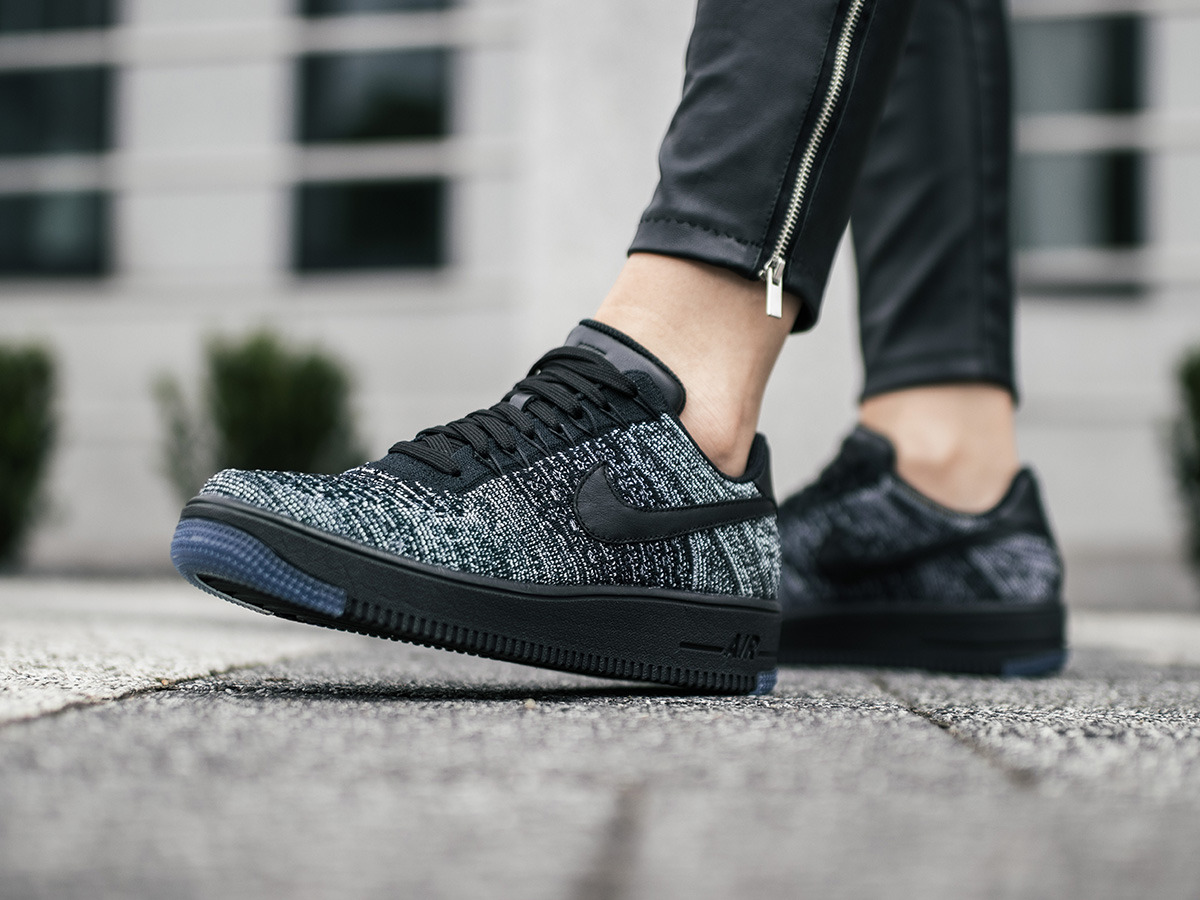 Buy nike air force 1 flyknit womens black > Up to 55% Discounts