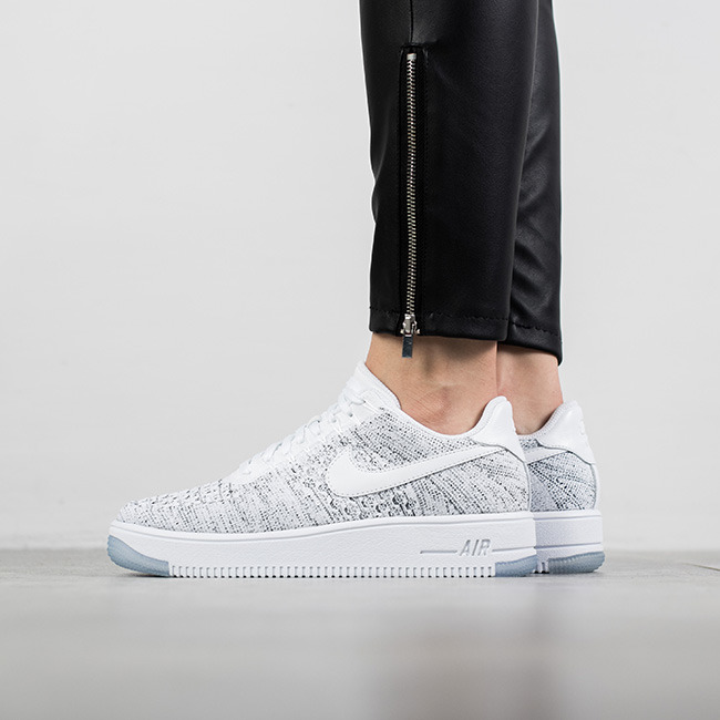 buy popular 3af74 049f1 ... cheap womens shoes sneakers nike air force 1 flyknit low 820256 103  4a615 2bff6