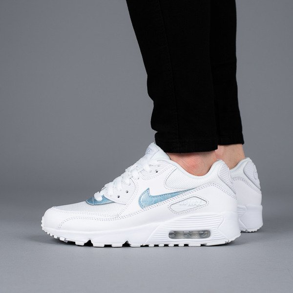 buy popular 081de bcfde Womens Shoes sneakers Nike Air Max 90 Mesh (GS) 833418 111 - Best shoes  SneakerStudio