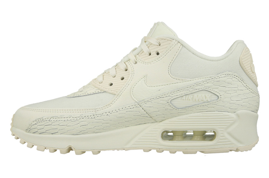 air max 90 white leather womens