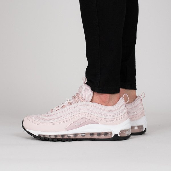 Nike Air Max 97 Beige White Pink Womens Trainers | Nike air