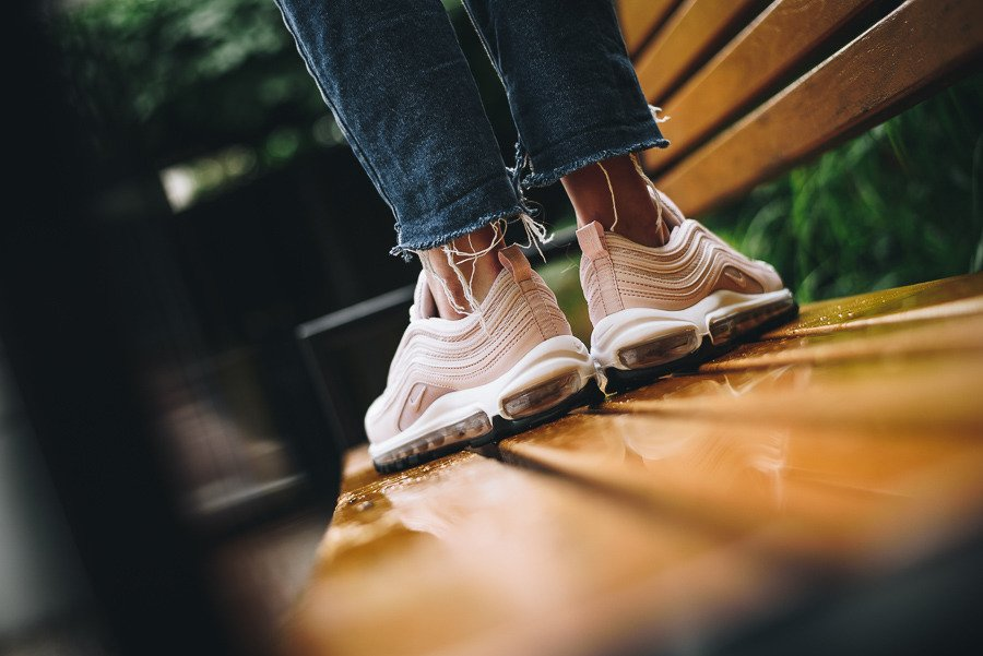 Women's Nike Air Max 97 Barely Rose 921733 600, Nike Shoes