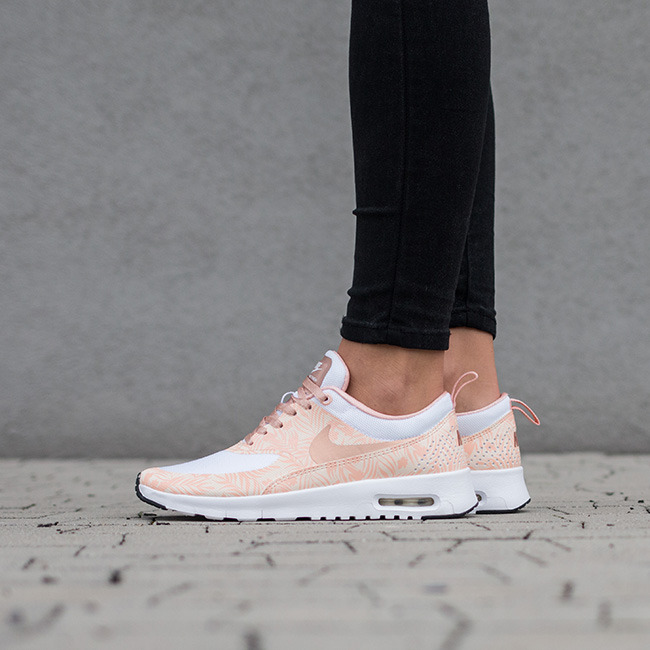 Nike Air Max Thea Womens Orange Kellogg Community College