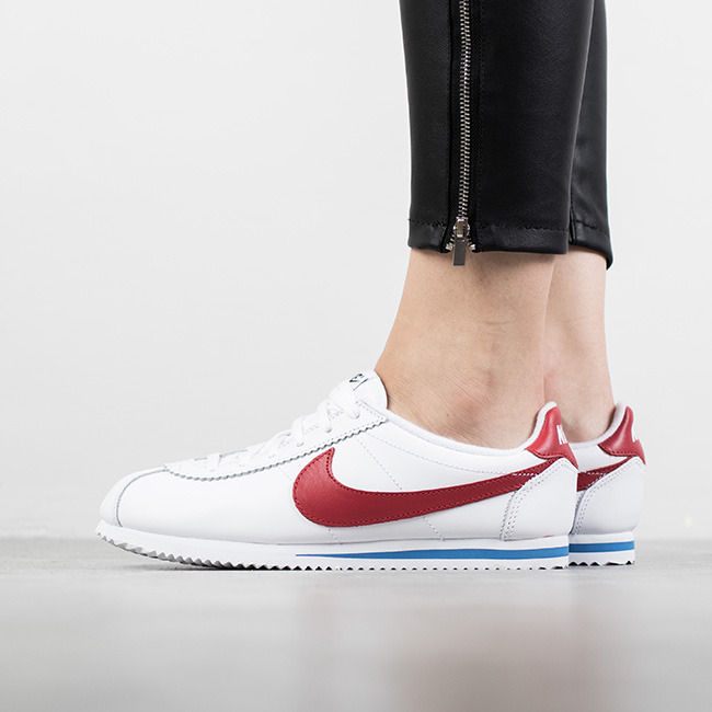 the latest 2e70d 9f37a Nike Classic Cortez Women's Leather Sneakers gatwick-airport ...