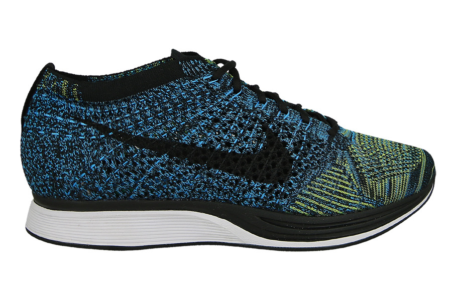 d4136bd86917 Womens Shoes sneakers Nike Flyknit Racer  Good source of materials NIKE  Flyknit Racer blue glow 526628 402 Mens Running Shoes  Nike Flyknit ...