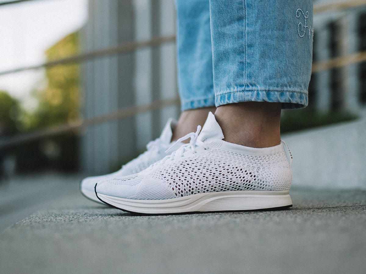 31baed08f058 Available new style nike flyknit racer goddess white 526628 100 mens ...