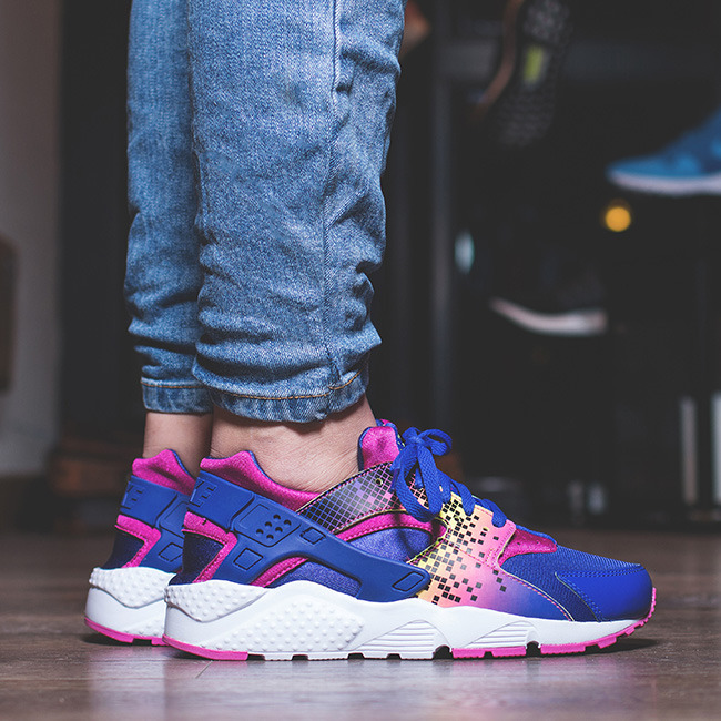 nike huarache run print womens