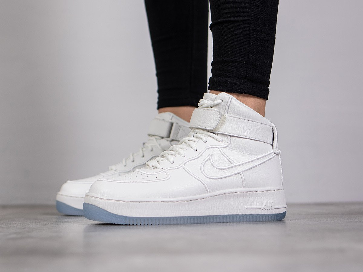 buy online fe9ea dd440 ... cheap womens shoes sneakers nike wmns air force 1 upstep hi si 881096  100 0114d 04eeb