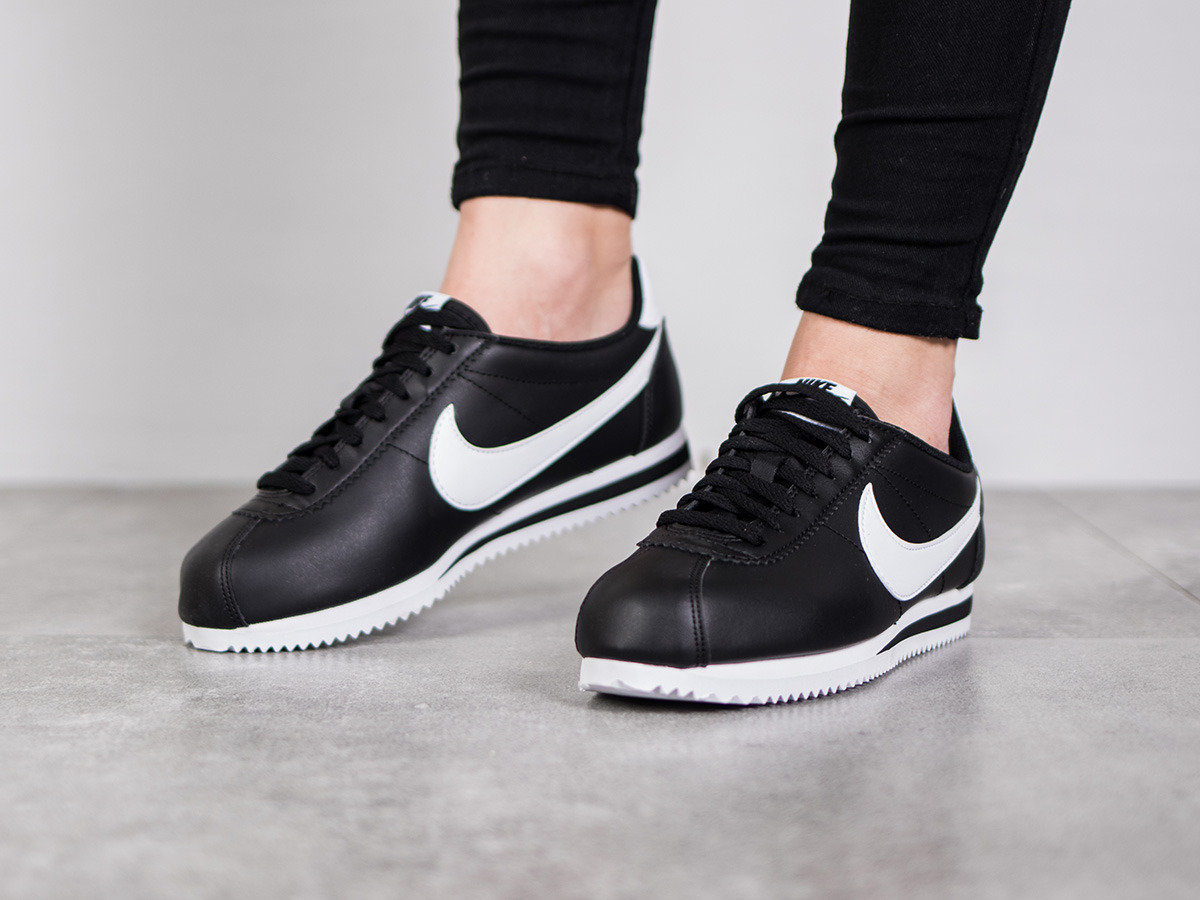 ... Women's Shoes sneakers Nike Wmns Classic Cortez Leather 807471 010 ...