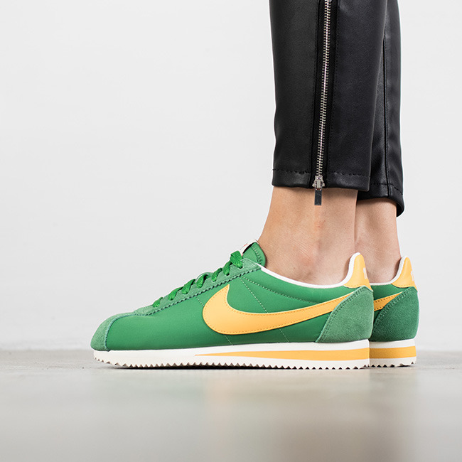 huge discount c9870 cb24e ... top quality nike cortez green and yellow 10187 9144e