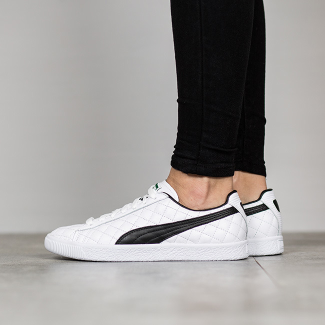 Puma Clyde Dressed Part Deux FM Women White