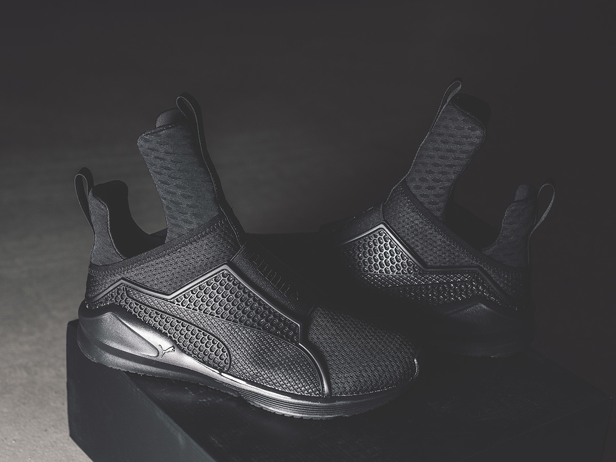 info for cf93e 7b7fe puma fenty trainer black