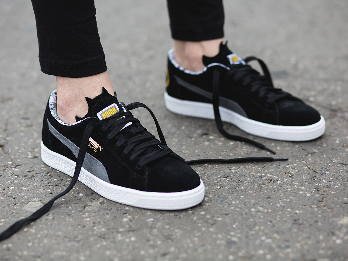 Baskets Puma Suede Batman Jr mLJDnaL