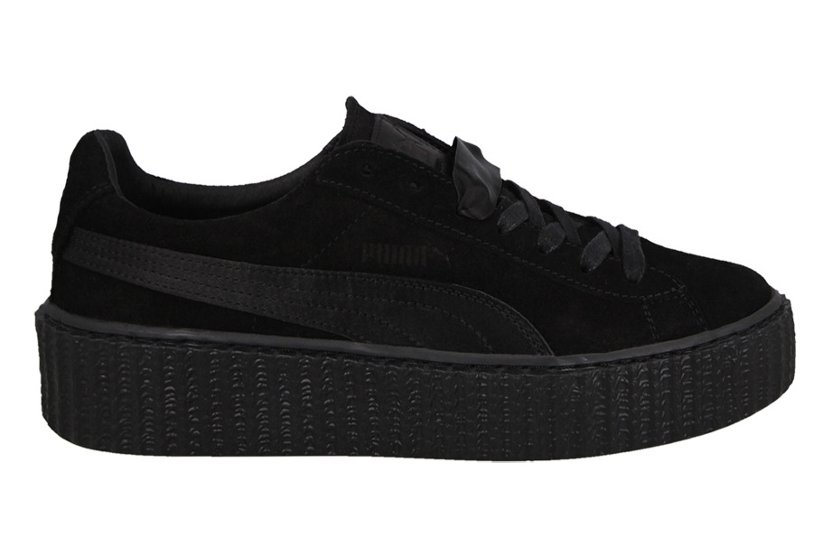 ... Women's Shoes sneakers Puma Suede Creepers Satin Fenty Rihanna 362268  01 ...