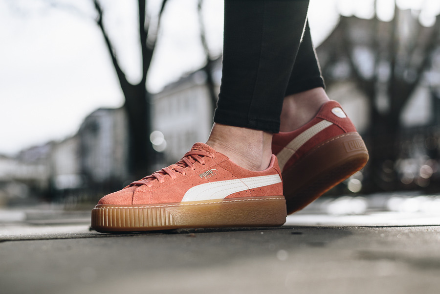 Puma W Suede Platform Trace | Pink | Sneakers | 365830 05