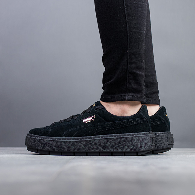 women 39 s shoes sneakers puma suede platform trace 365830 01 best shoes sneakerstudio. Black Bedroom Furniture Sets. Home Design Ideas