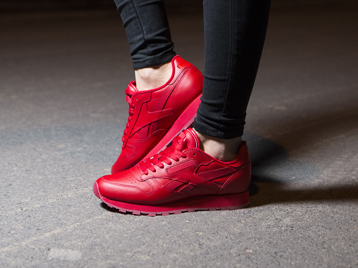 reebok classic leather red