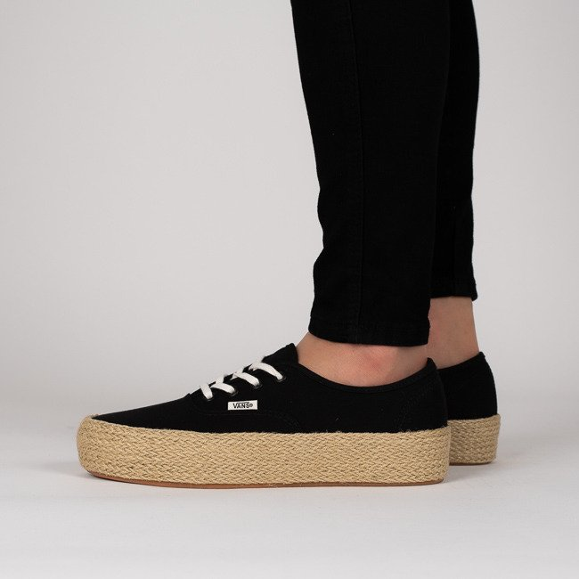 Women's Shoes sneakers Vans Authentic Platform VA3NAQBLK ...
