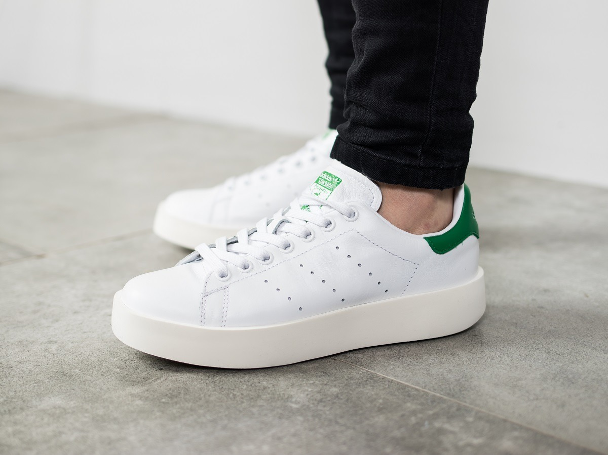 ... Women's Shoes sneakers adidas Originals Stan Smith Bold S32266 ...
