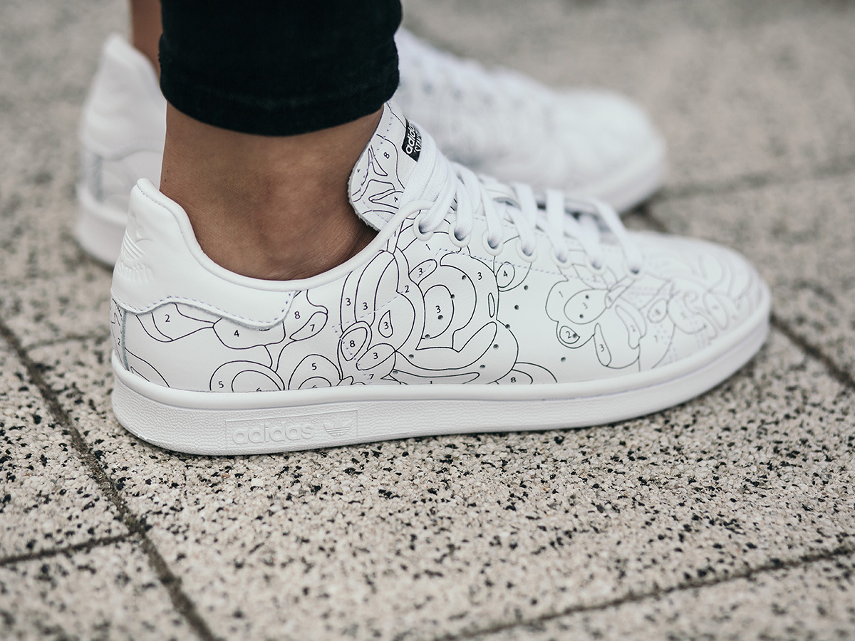 stan smith paint