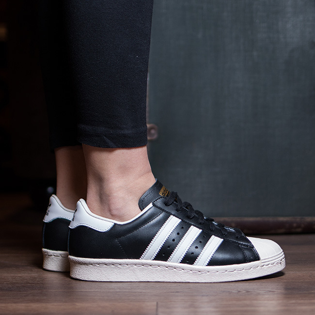 adidas 80s shoes black