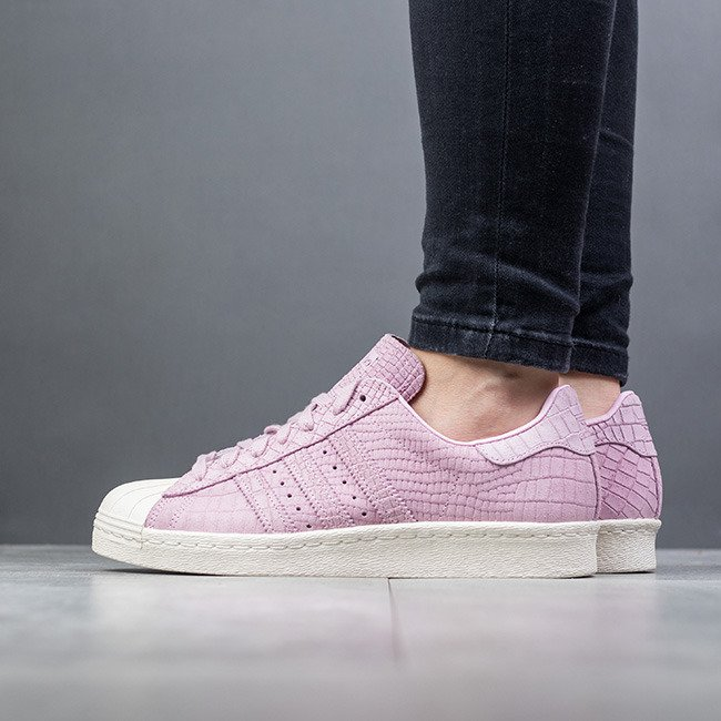 Adidas Women Originals CQ2516 Pink Superstar 80s Shoes
