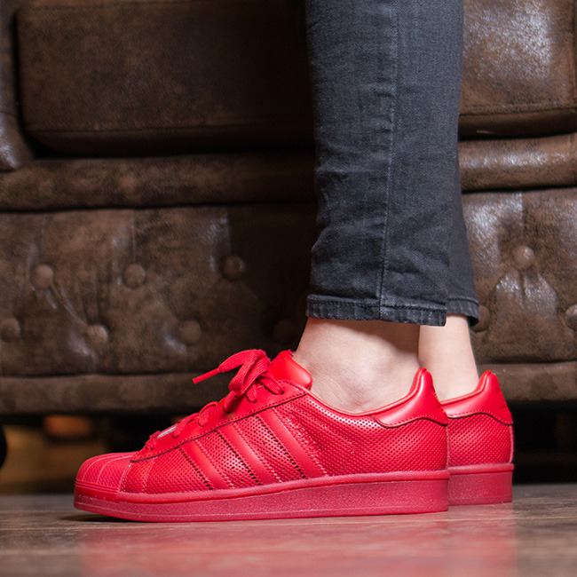 adidas Superstar Adicolor (Scarlet Red) Ubiq