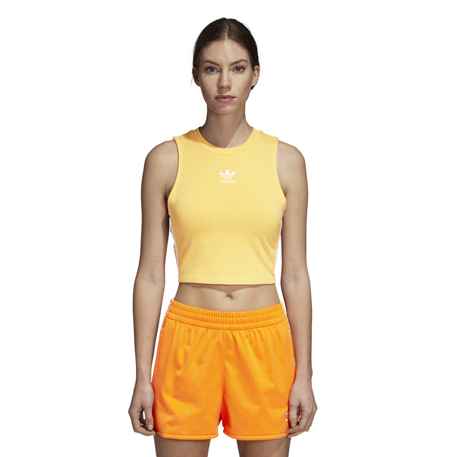 343a539025c Crop Tank DH3169: yellow, adidas top | SneakersStudio Store