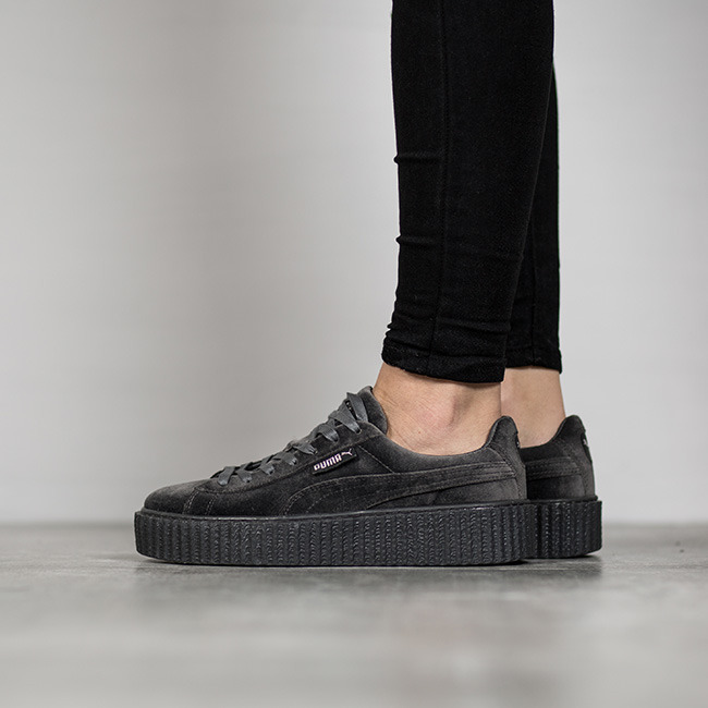 women 39 s shoes sneakers puma creeper velvet x rihanna. Black Bedroom Furniture Sets. Home Design Ideas