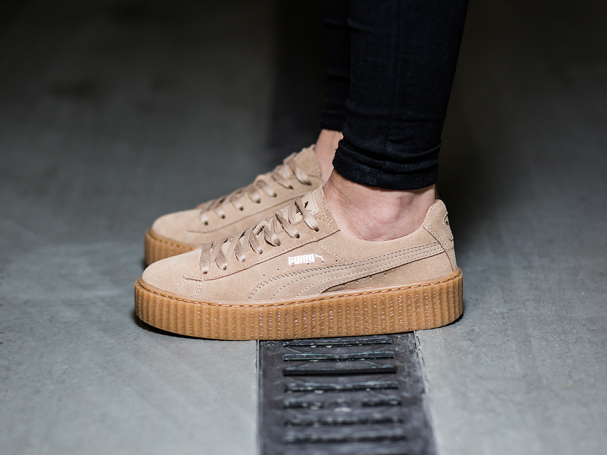 women 39 s shoes sneakers puma suede creepers x rihanna. Black Bedroom Furniture Sets. Home Design Ideas