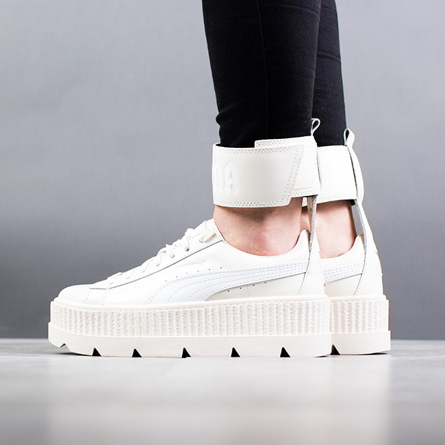 competitive price 02763 dc757 womens puma fenty x rihanna ankle strap creeper casual shoes