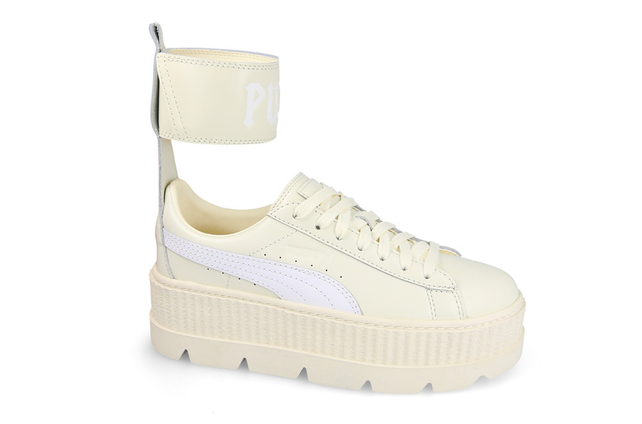 ac34e2a80c64 Savings on FENTY Puma by Rihanna Ankle Strap Leather Creeper Sneakers