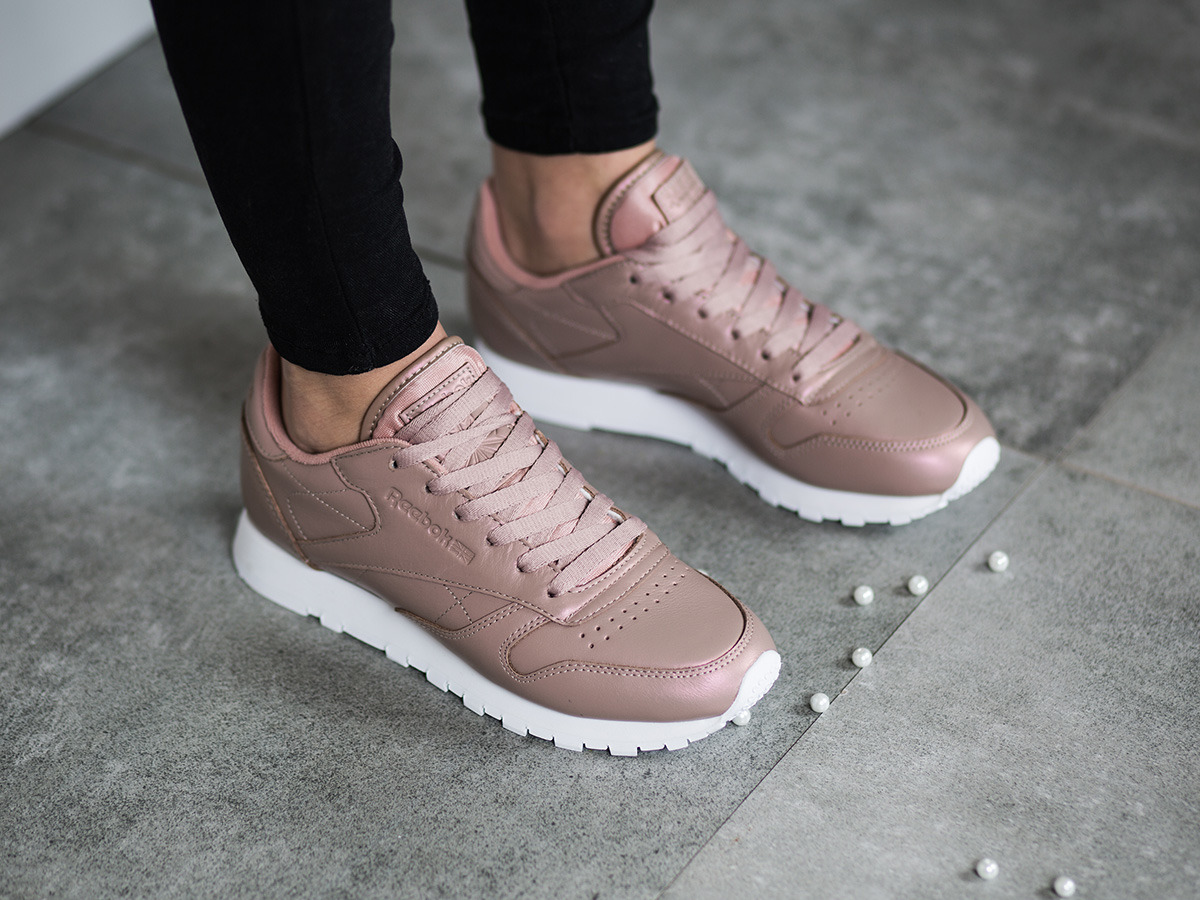 Reebok Classic Leather Pearlized Damen