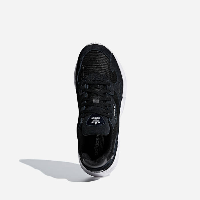 Details about Adidas Men FALCON W Shoes Running Training Black Sneakers Boot GYM Shoe B28129