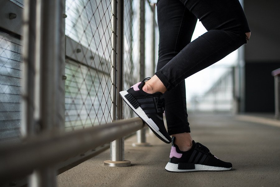 the latest 718ed 6a028 Women's shoes sneakers adidas Originals NMD_R1 W B37649 ...