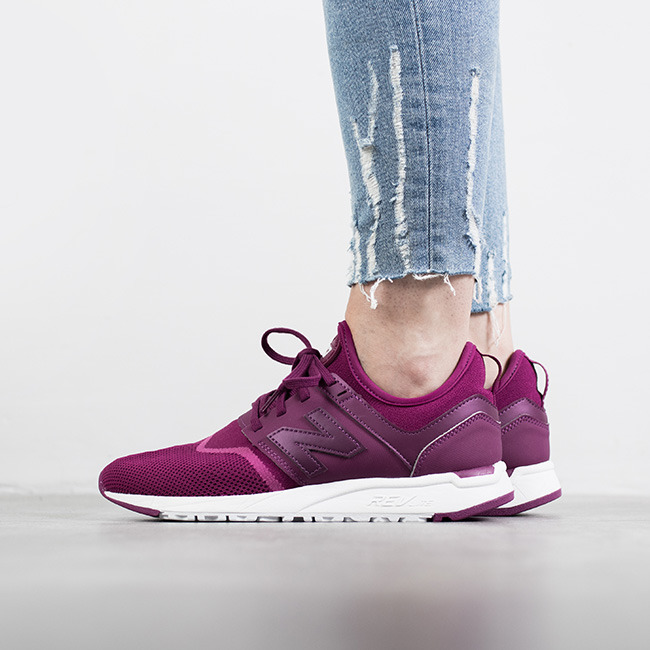 womens new balance 247 purple