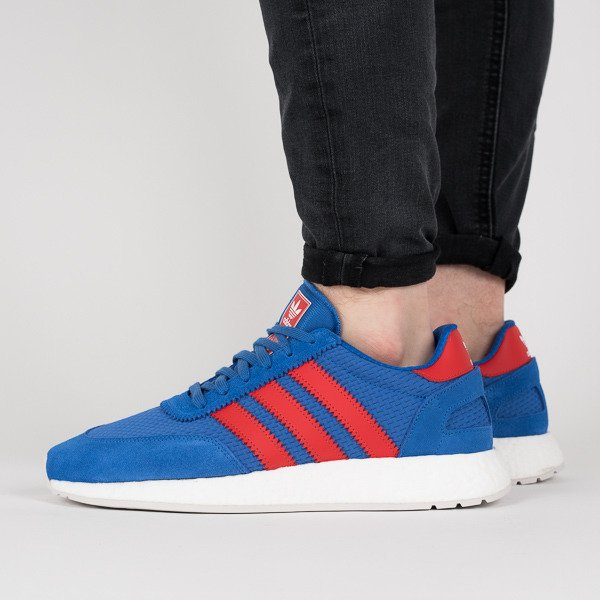adidas Originals I 5923 Trainers In Blue And Red