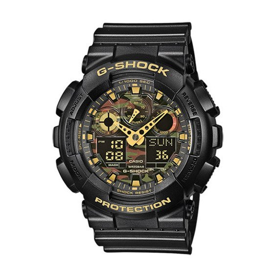Men's Watch Casio G-Shock GA-100CF-1A9ER