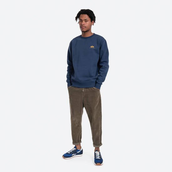 Alpha Industries Basic Sweater Small Logo 188307 435