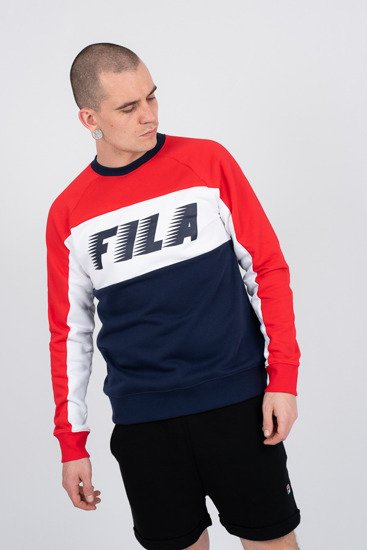 235e7fafea31d Men s blouse Fila Norbin Crew 682353 002 - Best shoes SneakerStudio