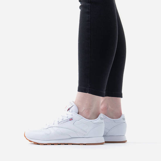 reebok classic leather white womens shoes
