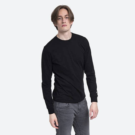 Carhartt Long Sleeve Base I026265 Black/White