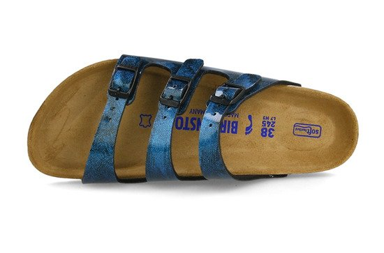 Flip-flop Birkenstock Florida Fresh Strong Blue 1011181