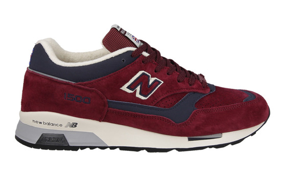 "MEN'S SHOES SNEAKER NEW BALANCE MADE IN UK ""THE CUMBRIAN RED - REAL ALE PACK"" M1500AB"