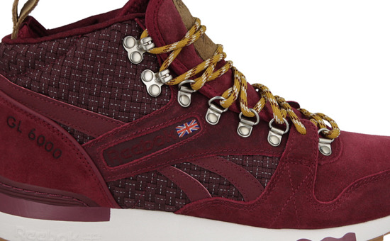 "MEN'S SHOES SNEAKERS Reebok GL 6000 Mid RW ""Rustic Wine"" M49146"
