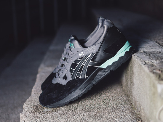 Men's Shoes sneakers Asics Gel Lyte V Casual Lux Pack H6D4L 9090