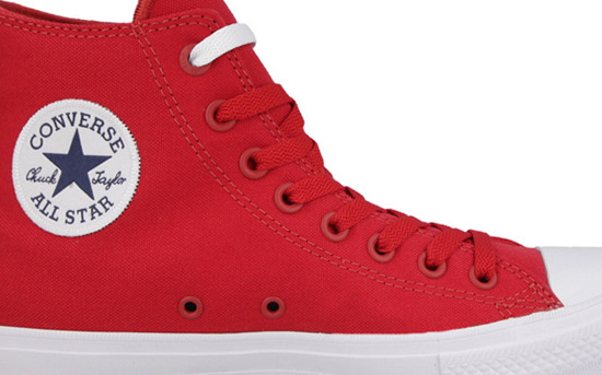 Men's Shoes sneakers Converse Chuck Taylor All Star II Hi Salsa 150145C