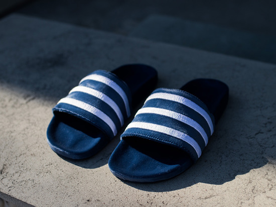 "Men's flip flops adidas Originals Adilette ""Mystery Blue"" BY9908"