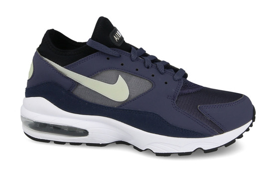 "Men's shoes sneakers Nike Air Max 93 ""Obsidian"" 306551 500"